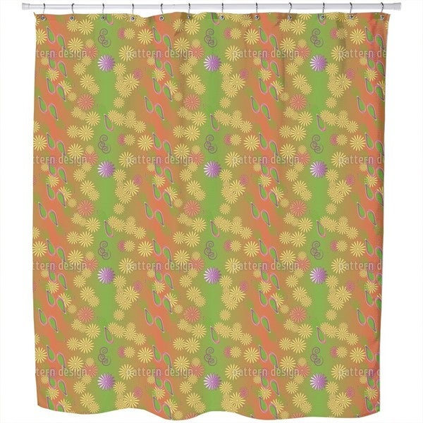 Bellies Paradise Shower Curtain