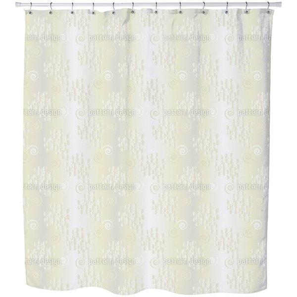 Behind Tender Curtains Shower Curtain