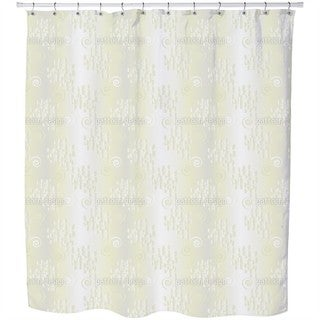 Behind Tender Curtains Shower Curtain