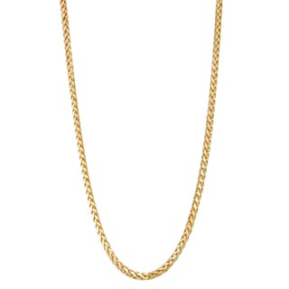 Gioelli 14k Gold Wheat Necklace
