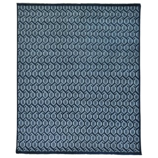 Turkish Knot Paisley Design Hand-knotted Oriental Rug (8'1 x 9'10)