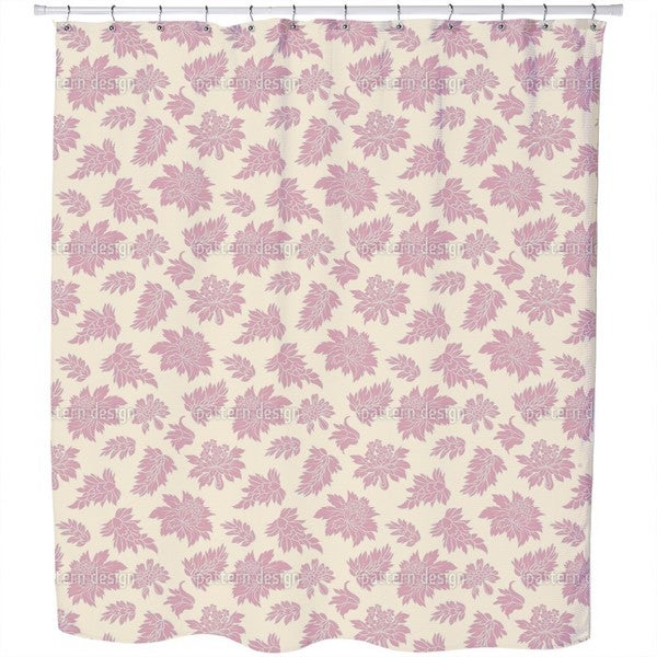 Baroque Bloom Shower Curtain