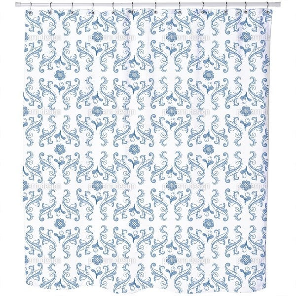Barocko Folk Blues Shower Curtain