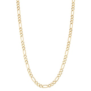 Gioelli 14k Gold Figaro Necklace