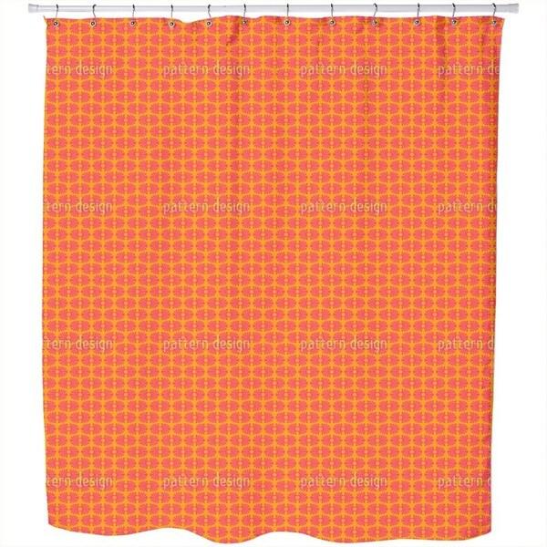 Bamboo Pop Shower Curtain