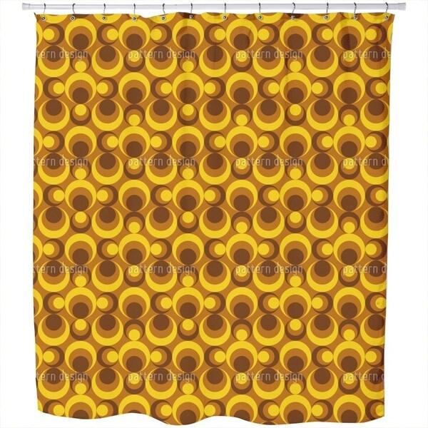 Balls of Fire Shower Curtain