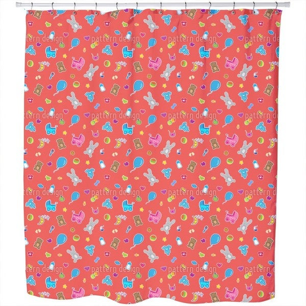 Baby Toys Shower Curtain