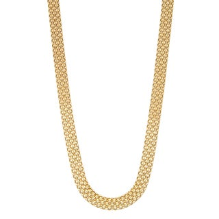 Gioelli 14k Gold Bismark Necklace
