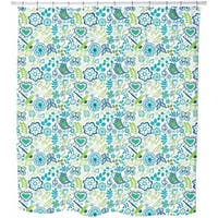 Awakening in Spring Gardens Shower Curtain