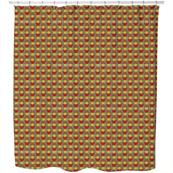 Autumn of Trapeze Shower Curtain