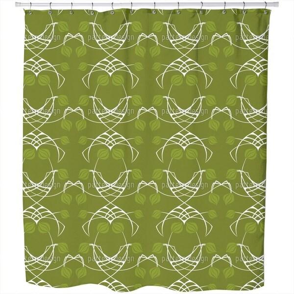 Arwens Dream Green Shower Curtain
