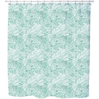 Art Nouveau Tulip Shower Curtain - Free Shipping Today - Overstock ...