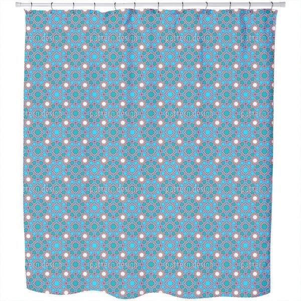 Arabic Latticework Shower Curtain