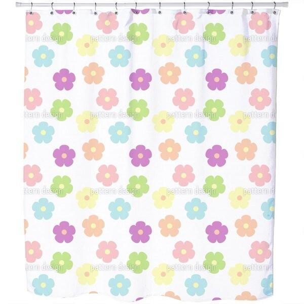 Cute Floret Shower Curtain