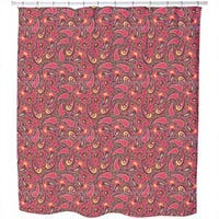 Colourful Paisley Shower Curtain