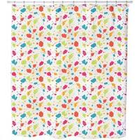 Colorful Blots Shower Curtain