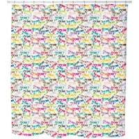 Clear-sightedness Shower Curtain