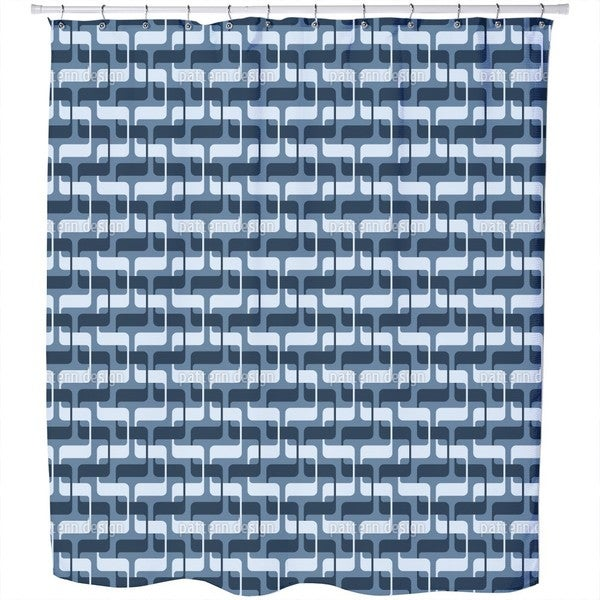 5225 Snakes Shower Curtain