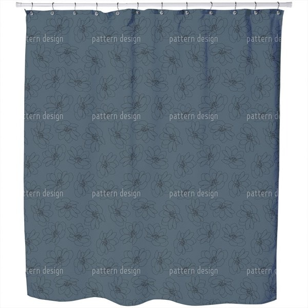Dancing Clementine Shower Curtain