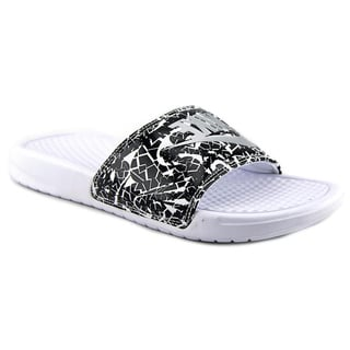 Nike Women's 'Benassi JDI Print' Synthetic Sandals