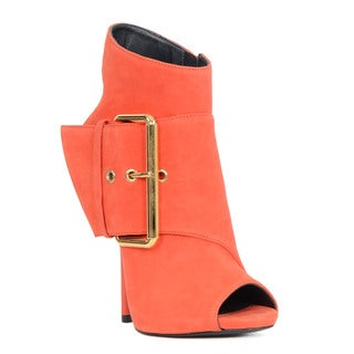 Giuseppe Zanotti Red Leather Booties