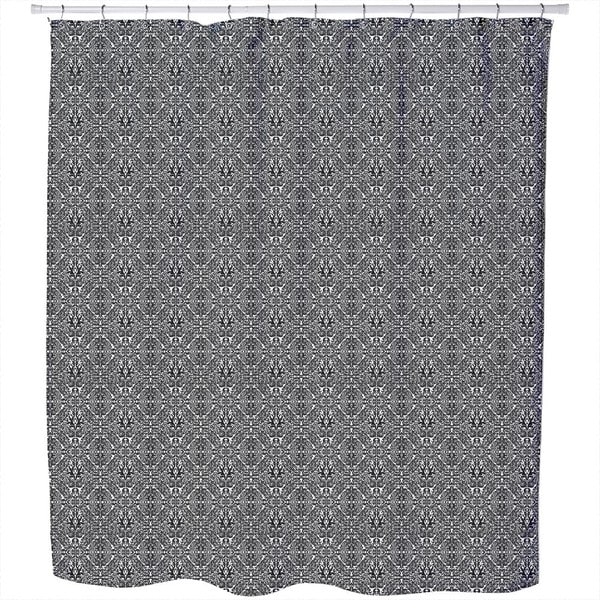 Dark Rokoko Shower Curtain