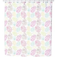 Delicate Easter Eggs Shower Curtain