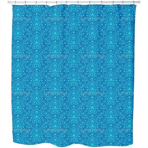 Delicate Ornamentic Shower Curtain
