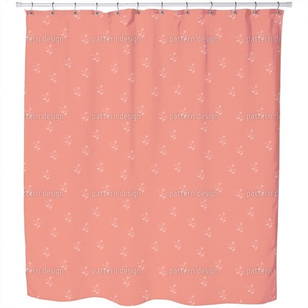 Delicate Sprigs Shower Curtain