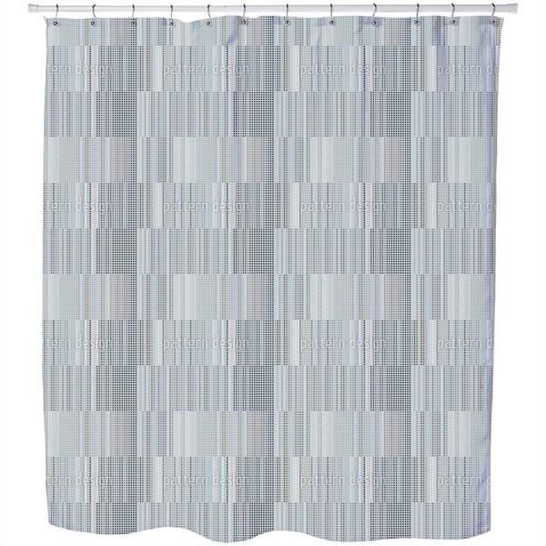 Dot Grid Shower Curtain
