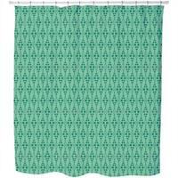 Dottore Green Shower Curtain