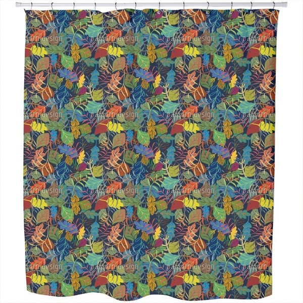 Dreaming of Leaves Shower Curtain