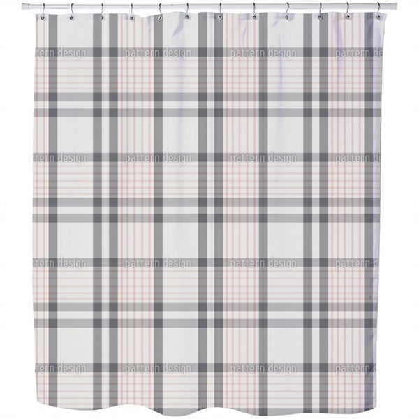 Earl Grey Shower Curtain