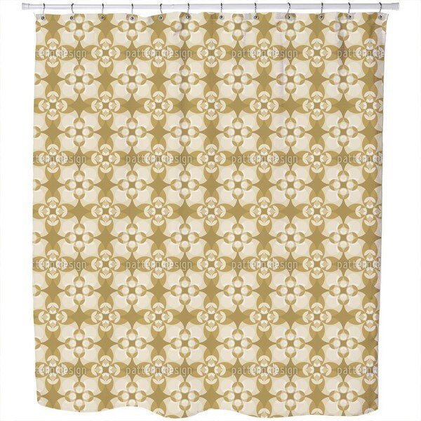 Esmeralda Sepia Shower Curtain