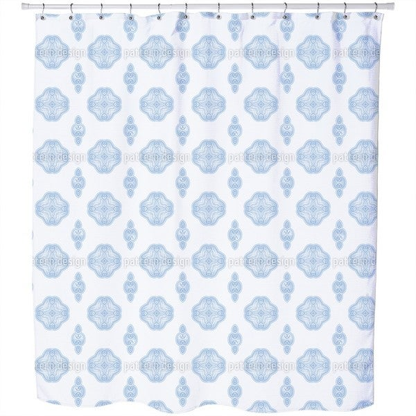 Ethno Lace Shower Curtain