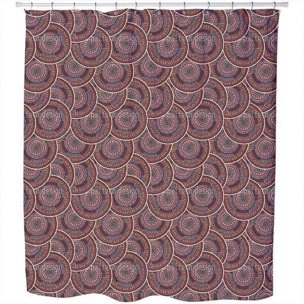 Ethno Mandalas Shower Curtain