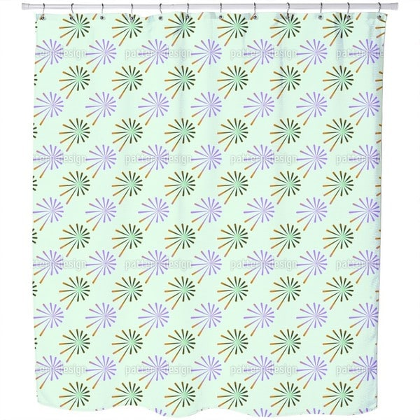 Fantasy of Chives Shower Curtain
