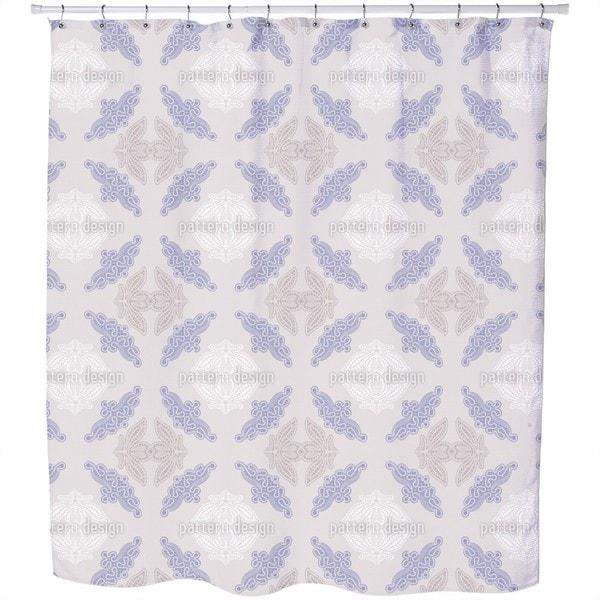 Fancy Lace Shower Curtain