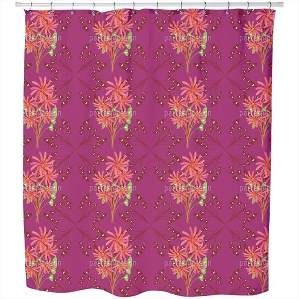 Fantasia Floral Shower Curtain