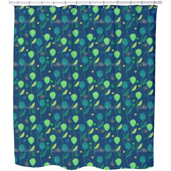Fantasyflora Shower Curtain