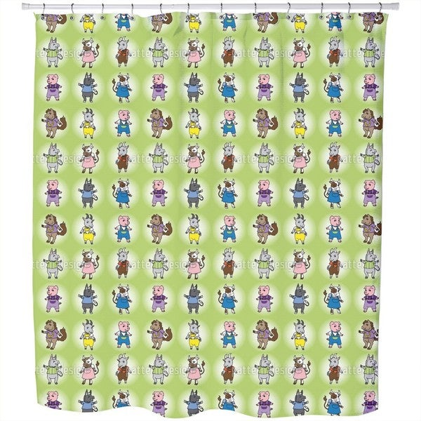 Farmlife Shower Curtain