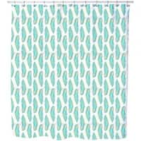 Feather Leaves Shower Curtain