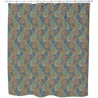 Filigree Paisley Shower Curtain