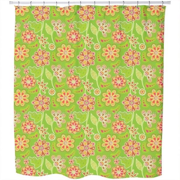 Floral Magic Shower Curtain