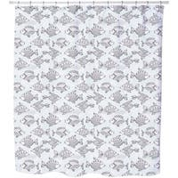 Fishpond Shower Curtain