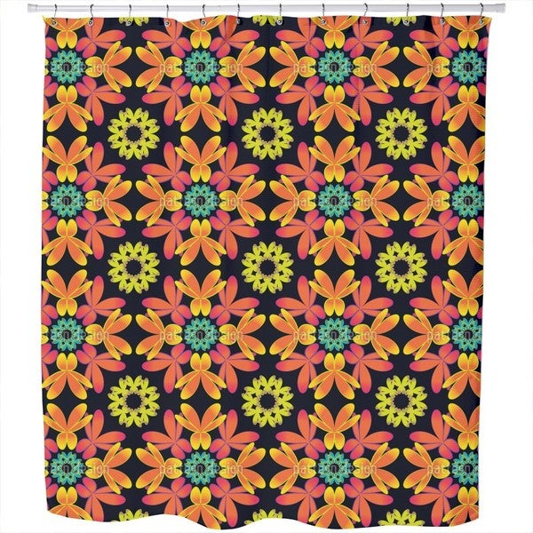 Flora Extreme Shower Curtain