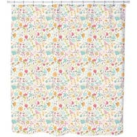 Floral Enchantment Shower Curtain