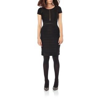 French Connection Lydia Black Bandage Dress