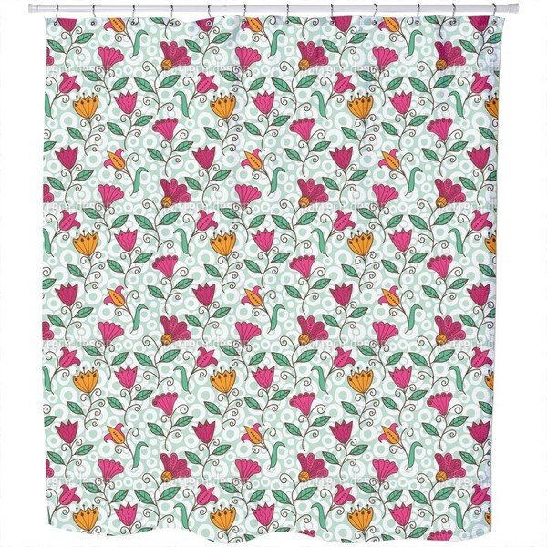 Floral Sweetness Shower Curtain