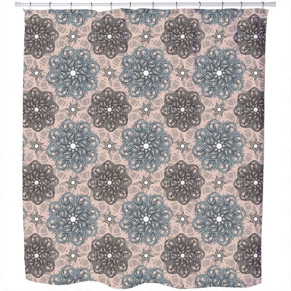 Flowers From Fantasia Shower Curtain